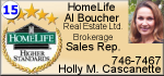 Holly Cascanette - Al Boucher Real Estate Ltd. Brokerage Sales Rep.