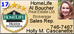 Holly Cascanette - Al Boucher Real Estate Ltd. Brokerage Sales Rep.