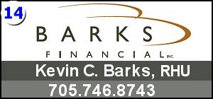 Bark's Financials - Kevin C. Barks